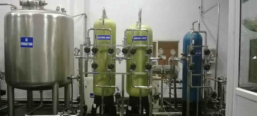 dm water plant process pdf